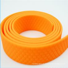 Plástico de cor preta fosco TPU nylon revestido collr coleira de estimação cinta de estimação
