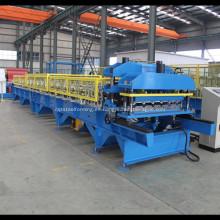 Rodillo de teja fabricado que forma la máquina