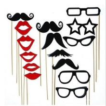FQ marque barbe fête mariage masque drôle