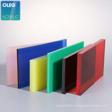 OLEG 3mm cast acrylic sheets supplier plastic plexiglass colors sublimation custom price pakistan acrylic sheet