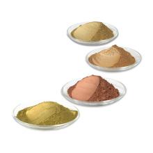 Factory Wholesale Strong Metallic Effect Bronze Gold Powder Rich Pale Gold Copper Metallic Pigment