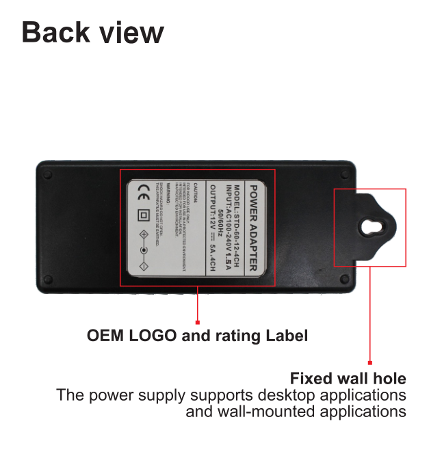 Desktop Type Power Adapter