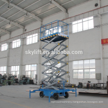 mobile scissor lift platform 4-18M/scissor lift platform for wheelchair