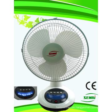 Ventilador de 12 pulgadas Ventilador de mesa solar Ventilador DC FT-30DC-Rd