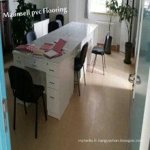 Revêtement de sol médical en vinyle / PVC / hôpital utilisé
