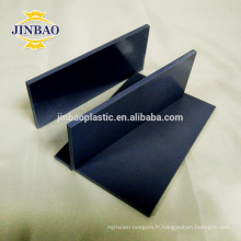 JINBAO Chine usine vente chaude 4x8 pi 3mm 5mmm blanc rigide pvc feuille