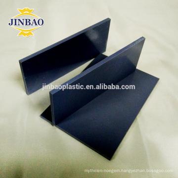 JINBAO China factory hot sell 4x8 ft 3mm 5mmm white rigid pvc sheet
