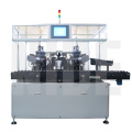 Five working station rotor automatic balancing machine
