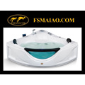 Multi-Function Triangle Modern Acrylic Massage Bathtub (MG-110)
