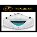 Banheira acrílica moderna da massagem do triângulo da Multi-Função (MG-110)