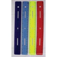 JML 12 IN Régua de plástico Soft Touch Ruler