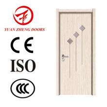 China porta de madeira Designs PVC MDF Room Door