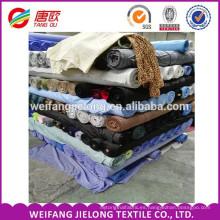 tela de popelina de algodón 100% 40 * 40 133 * 100 142GSM tela de popelina tela lisa