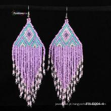 2013 moda joias brincos com cor misturada