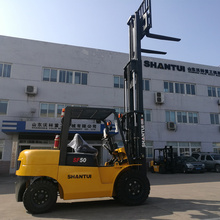 Hot Sale for 5 Ton Diesel Forklift 5 ton forklifts fork lift truck price export to Kuwait Supplier