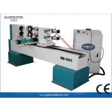 Máquina de torno de madera CNC de doble cabezal