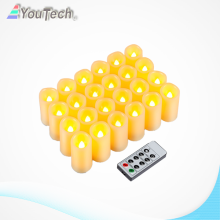 LED Candles Flameless Pillar Candles light