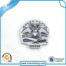 Slivery Mini Design Spezielle Logo Metall Abzeichen Werbegeschenk
