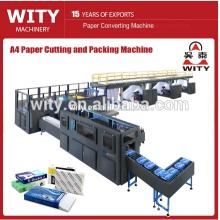 A4 Fotokopierpapier, Schneid-, Schlitz- und Verpackungsproduktionslinie
