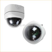 2017 Carcaça de câmera de cctv de peças de fundição com liga de alumínio fabricada na China