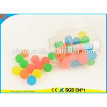 Новинка дизайн продвижение высоких резиновых чистый Цвет прыгающий мяч игрушка для малыша
