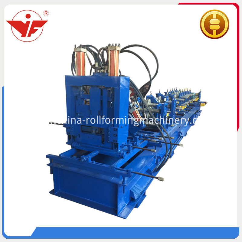 Automatic C Z purlin roll forming machine
