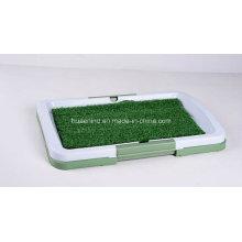 Toilette pour animaux de compagnie avec pelouse, produits de toilettage pour animaux de compagnie