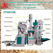 Petit moulin à riz à petite échelle efficace domestiques domestiques