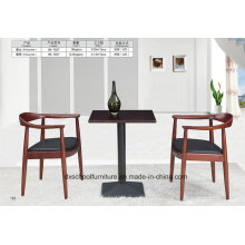Solid Wood Dining Table and Chair for Home