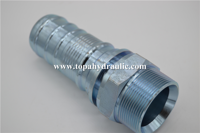 Brass hydraulic hose holder parker tube fittings