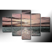 Home Decoration Seascape Oil Painting on Canvas (SE-185)