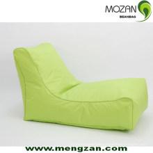 Chaise longue de soleil en plein air sac de soja