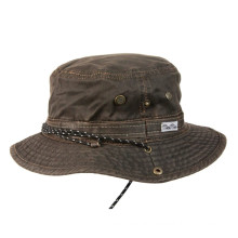 Oil Skin Hunting Hat/Bucket Hat/Fishing Hat/Floppy Hat