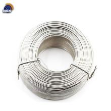 fio galvanizado de superfície de prata por imersão a quente