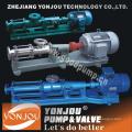 Yonjou Marca Twin & Três Screw Pump, bomba de betume, bomba de óleo bruto, Mono Screw Pump