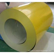 Couleur jaune bobine d'acier pour la construction de toit (SC-003)