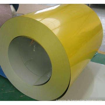 Farbe beschichtet Stahl Coils/PPGI Spule verwendet in Dach