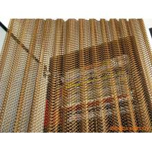 Brass Decorative metal wire mesh curtain