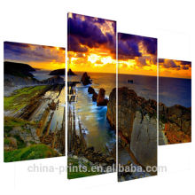 Wholesale Sunset Scenery Stretched Canvas Prints