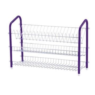 3 Tier Metal Wire Dish Stand