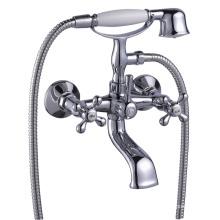 Messing Bad Wasserhahn Set Dusche gesetzt