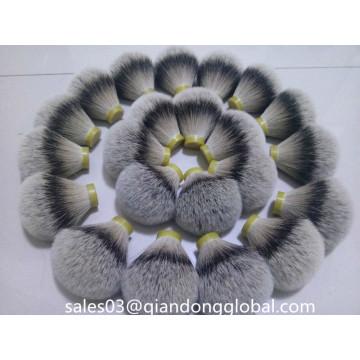 High Dense Silvertip Badger Hair Knot