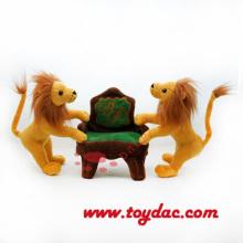 Plush Lion Famouse Car Mascot