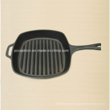 Preseasoned Cast Iron Frypan Size 26X26cm