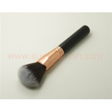 Rose Gold Face Brush Wooden Loose Powder Blush Brush