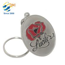 Nuevo diseño de encargo caliente de encargo Custom Logo Metal Enamel Keychain
