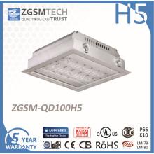 Lumière enfoncée par LED de haute performance de 100W