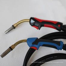 Venda quente 24KD micro mig tocha de soldagem conjunto para máquina de solda