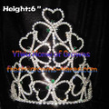 Wholesale Crystal Shamrock Crowns