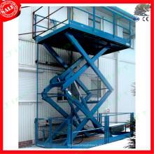 elevador hidráulico de carga